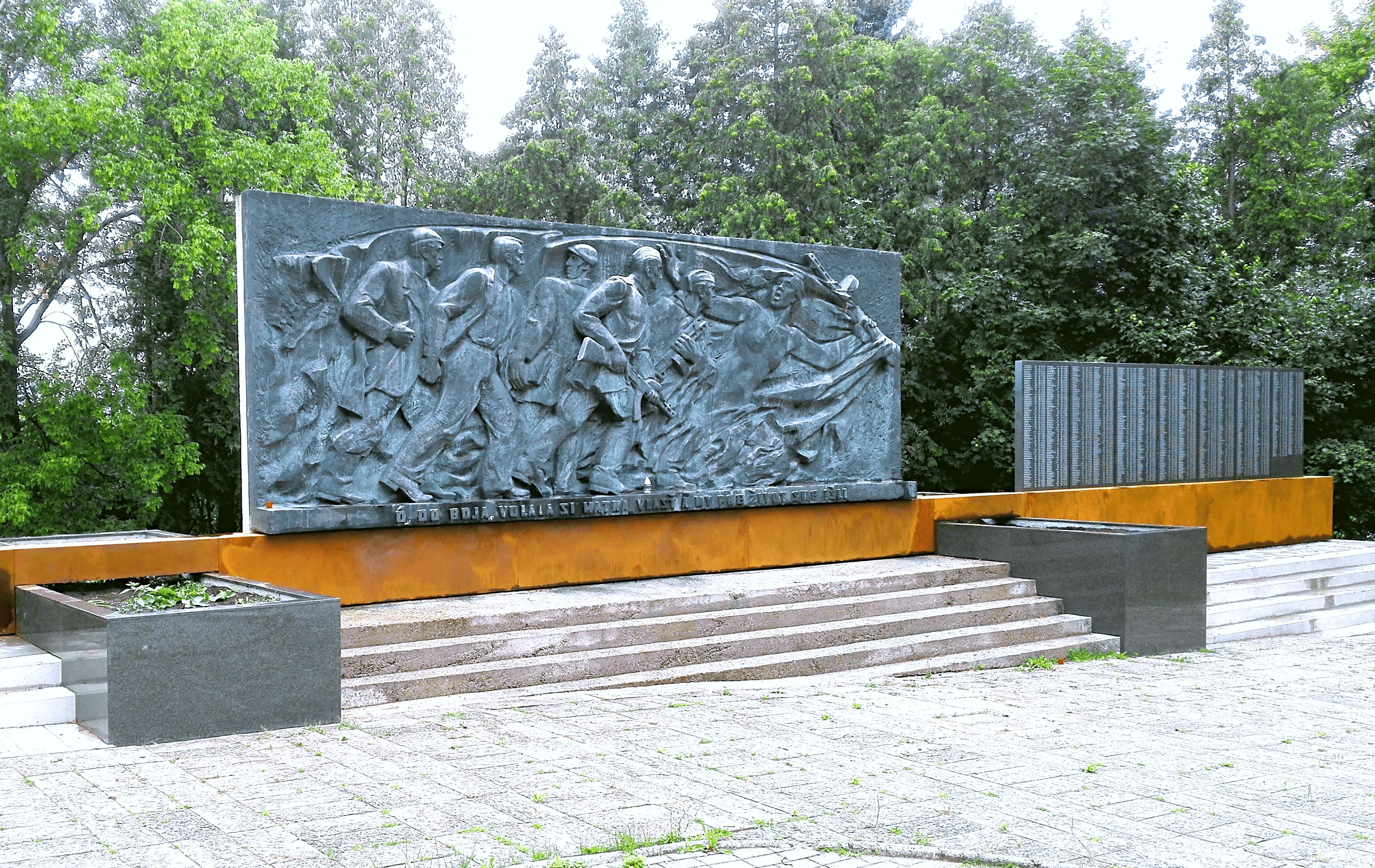 Podstavec pamätníka SNP na Bôriku, Žilina